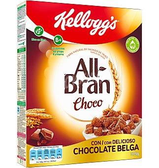 All Bran Kellogg's Cereales de fibra y chocolate Caja 375 g