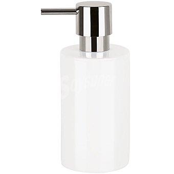 Tube dosificador de jabón en color blanco