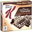 Barritas Biscuit Moments con chocolate Caja 125 g Special K Kellogg's