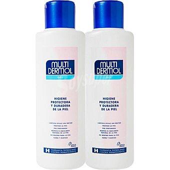 Multidermol Gel higiene e hidratacion protectora de la piel pack 2 unidades