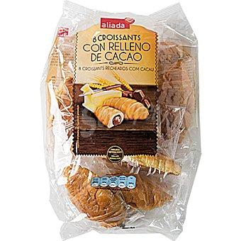 Aliada Croissants con relleno de cacao bolsa 320 g 8 unidades