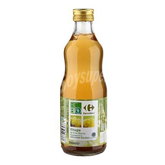Carrefour Bio Vinagre de vino blanco 500 ml