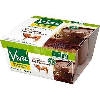 Vrai Postre chocolate Pack de 4x115 g