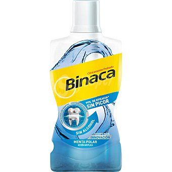 Binaca Enjuague de menta polar Botella 500 ml