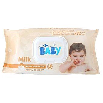 Carrefour Baby Toallitas Milky x72