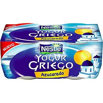 Yogur Griego Nestlé Yogur griego natural azucarado Pack 4x125 g
