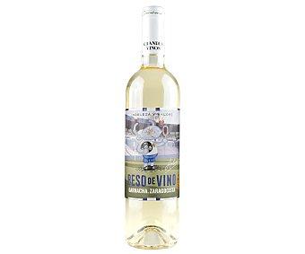 Beso de Vino Vino blanco con denominación de origen Cariñena Botella de 75 cl