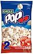 Palomitas al toque de sal pack 2 bolsas 100 g POP UP Envase 200 g Eagle