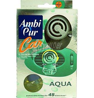 AmbiPur Ambientador coche car aqua aparato + recambio 1 UNI
