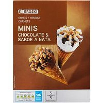 Eroski Mini cono variado Pack 10x28 ml