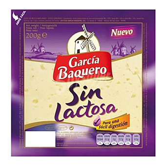 Garcia Baquero Queso sin lactosa 200 g