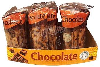 Anitin Rosquilletas planas con chocolate Pack 2 unidades - 180 g