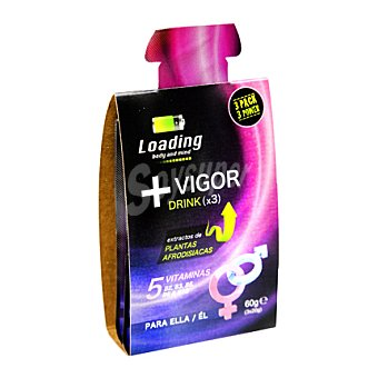 Loading Gel vigorizante Pack de 3x20 g