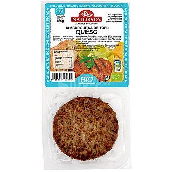 Natursoy Hamburguesa de tofu queso pack 2 unidades estuche 150 g Pack 2 unidades