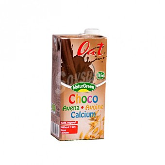 Naturgreen Bebida de avena, chocolate y calcio 1 l