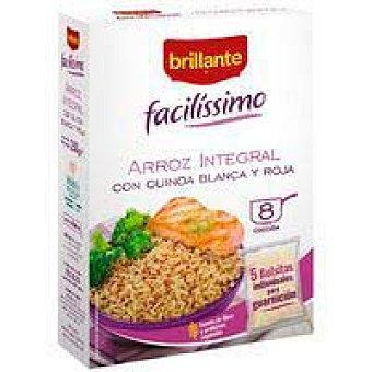 Brillante Arroz integral con quinoa facilíssimo brillante Caja 250 g