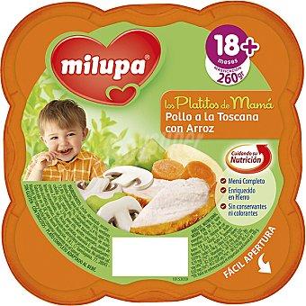 Milupa Miluchef Tarrito pollo Toscana con arroz a partir de 18 meses Tarro 260 g