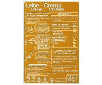 Auchan Crema catalana 92 gramos