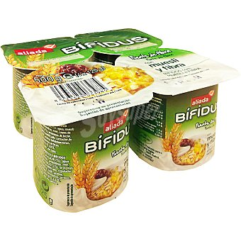 Aliada Yogur bífidus con cereales Pack 4x125 g