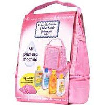 Johnson's Mi primera mochila rosa Pack 1 unid