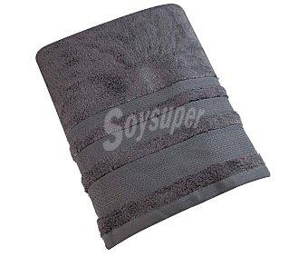 Actuel Toalla de ducha 82% algodón, color gris oscuro, ACTUEL.