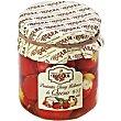 Pimientos cherry rellenos de queso fresco 9-15 unidades Frasco 200 g Rosara