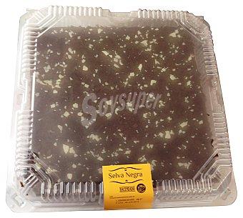 Hacendado Tarta selva negra cuadrada pastelería horno 1500 g