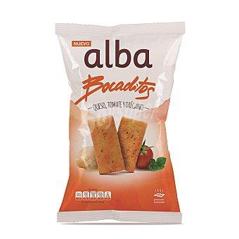 Alba Bocaditos de pan sabor queso, orégano y tomate Bolsa 110 gr