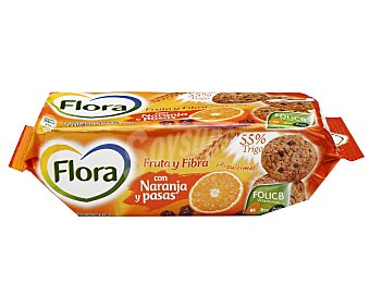Flora Galletas fruta-fibra Caja 125 g