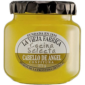 La Vieja Fábrica Confitura de cabello de ángel Cocina Selecta Frasco 350 g
