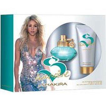 Shakira Estuche aquanarina