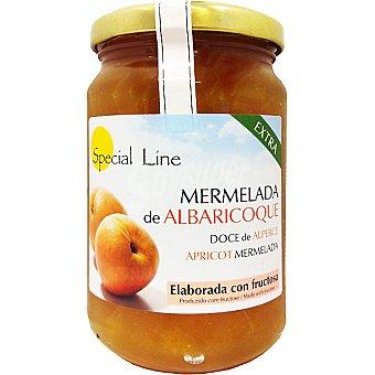 Special Line Mermelada extra de albaricoque con fructosa sin gluten sin azúcar añadido Frasco 345 g