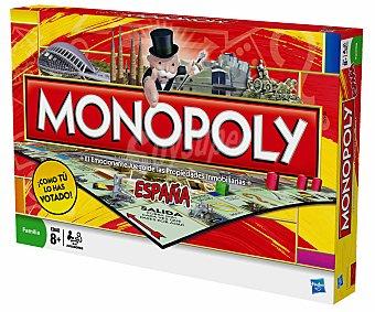 MONOPOLY Juego de Mesa Monopoly, Edición España, de 2 a 6 Jugadores 1 Unidad
