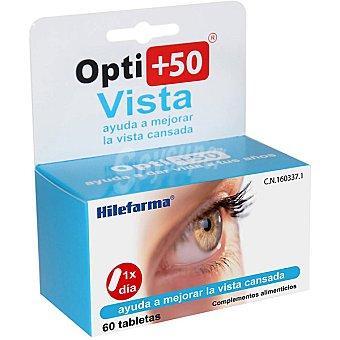 HILEFARMA OPTI+50 Vista Ayuda a mejorar la vista cansada Envase 60 comprimidos