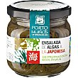 Ensalada de algas a la japonesa ecológica Tarro 335 g Porto Muiños
