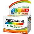 Plus con extracto de Ginseng y Ginkgo Biloba caja 30 comprimidos caja 30 comprimidos Multicentrum