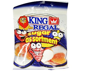 King Regal Surtido azúcar Bolsa 100 g