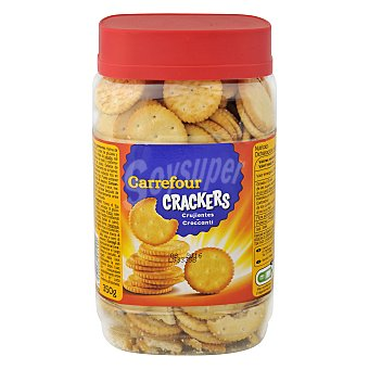 Carrefour Galletas saladas crackers redondas 350 g