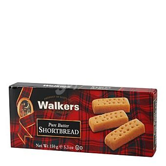 Walkers Galleta Shortbread Fingers Paquete 150 g
