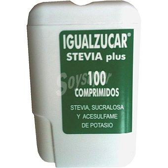 INTEGRALIA Igualzucar Edulcorante stevia plus Envase 100 comprimidos