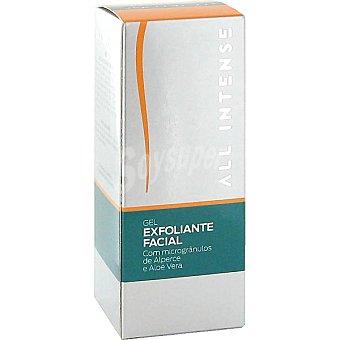 All Intense gel exfoliante facial con microgránulos de albaricoque y aloe vera Tubo 75 ml
