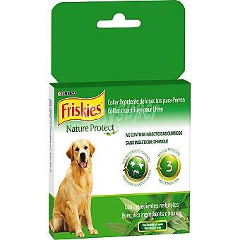 Purina Friskies Collar Nature Protect repelente de insectos para perro con ingredientes naturales caja 1 unidad Caja 1 unidad