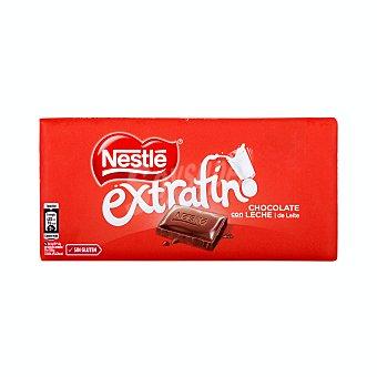 Nestlé Chocolate con leche extrafino Tableta 125 gr