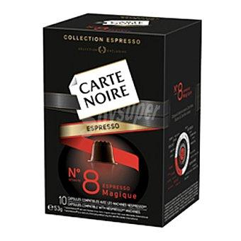 Carte Noire Café en cápsula nº 8 Espresso Magique 10 ud