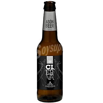 CIERVA Abbey Lager cerveza rubia de Cantabria botella 33 cl Botella 33 cl