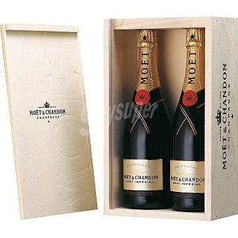 Moët & Chandon Champagne Brut Imperial Estuche 2 botellas x 75 cl