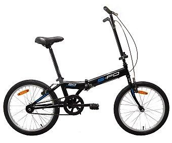 TNT Bicicleta City, plegable, 20 pulgadas, cuadro de acero monovelocidad 1 Unidad