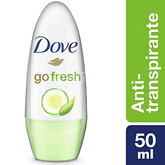 DOVE Desodorante roll-on Fresh sin alcohol envase 50 ml