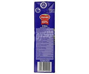 Juver Zumo de piña 100% Brik 1 litro