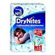 Calzoncillos absorventes niño 8-15 años 13u Dry Nites